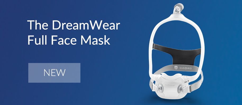 All New DreamWear Full Face Mask