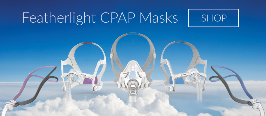 New Featherlight CPAP Masks