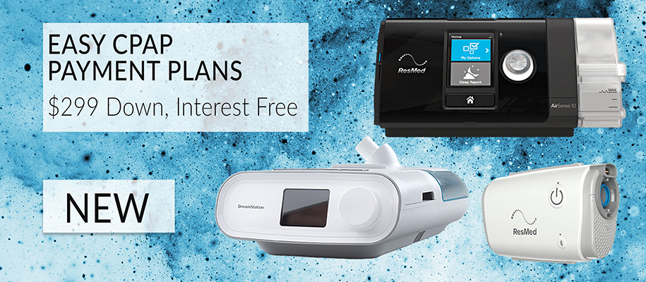 Zero Interest Payment Plans for New CPAP Machines