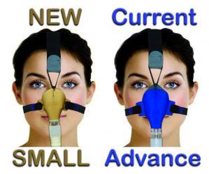 SleepWeaver Advance Small Mask without Headgear