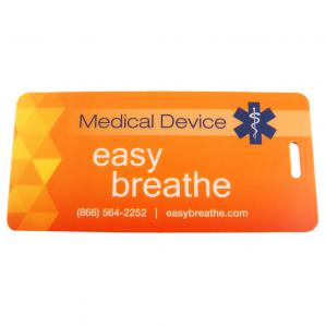 Medical Device Carry-On Tag