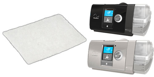 AirSense 10, AirCurve 10, and S9 Hypoallergenic Filter by ResMed