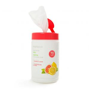 PURDOUX CPAP Mask Wipes with Citrus Scent