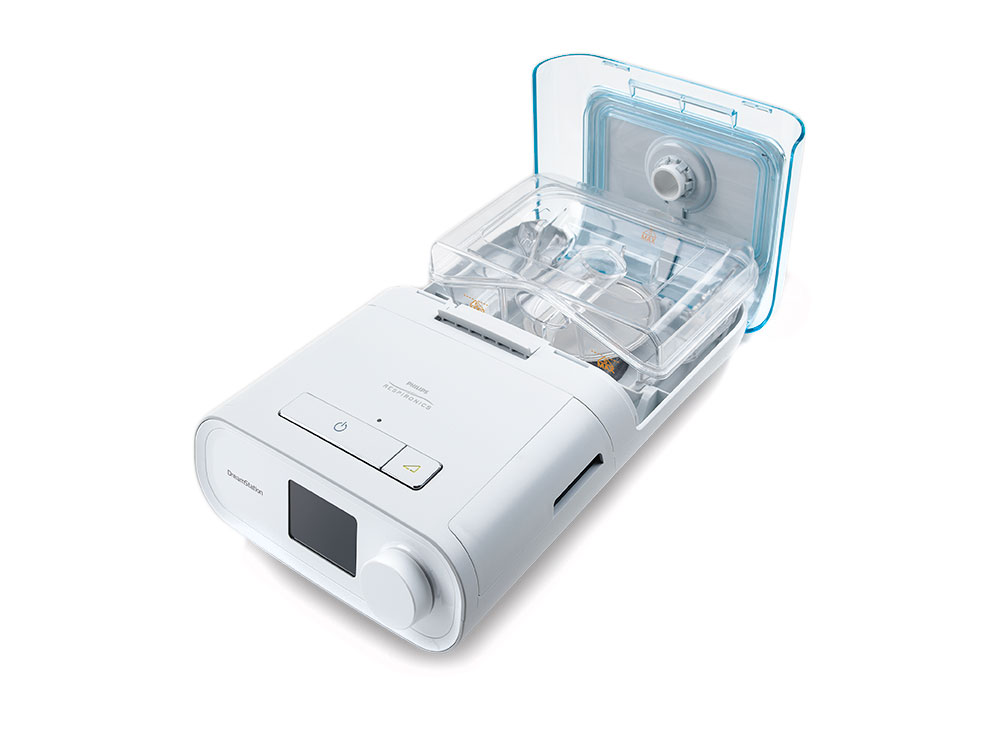 DreamStation BiPAP Pro with Humidifier and Heated Tube