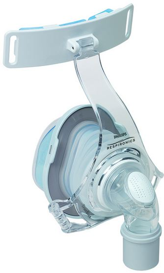 TrueBlue Nasal Mask System without headgear