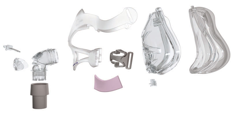 Quattro™ FX for Her Mask with Headgear
