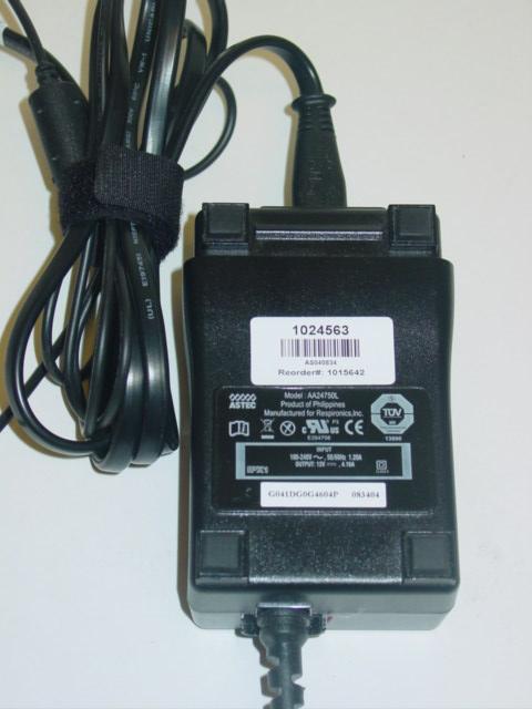 Respironics M Series External Power Supply